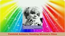 Feminist Auteurs Reading Womens Films PDF