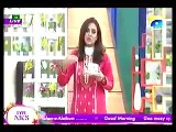 Nadia Khan Show -7th December 2015 Part 1 - Geo Tv Morning Show - Special with Sadaf
