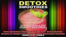 Detox Smoothies Delicious NutrientRich Detox Smoothie Recipes For Weight Loss Health