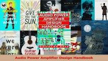 Download Audio Power Amplifier Design Handbook Second