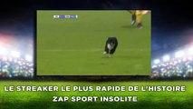 Le streaker le plus rapide de l'histoire zap sport insolite