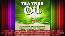 Tea Tree Oil Tea Tree Oil  Discover the Amazing Benefits of Tea Tree Oil for Curing