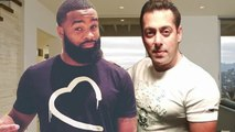 Salman Khan GIFTS Being Human T-Shirt To Sultan's Co-star Tyron Woodley