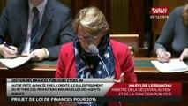 PLF 2016, Gestion des finances publiques et des ressources humaines - Les matins du Sénat