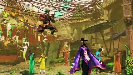 Trailer casting final de Street Fighter V