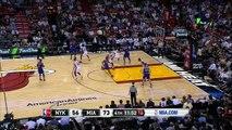 Carmelo Anthony Schools Justise Winslow   Knicks vs Heat   November 23, 2015   NBA 2015-16 Season
