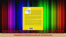 PDF] Mathematical Problems in Image Processing: Partial