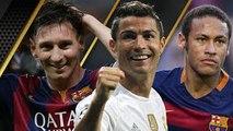Neymar ● Cristiano Ronaldo ● Lionel Messi - Ballon dOr 2015 Battle   HD