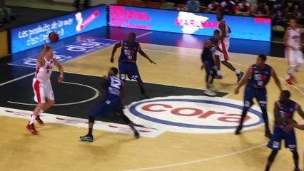SLUC Nancy Basket / Rouen Metropole Basket (06/12/2015) !