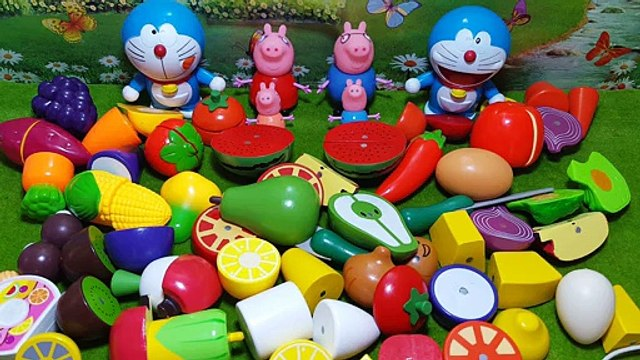 Jingle cats Peppa Pig piggy play house fruit honestly look honestly Le Toy Pec fruit mother fun games(000000.000-000959.607)