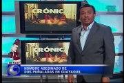 Crónica Viva – Hombre asesinado de dos puñaladas en la ciudad de Guayaquil