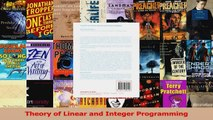 PDF Download  Theory of Linear and Integer Programming Read Full Ebook