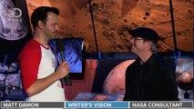 The Martian: DNews Interviews Matt Damon, Andy Weir, & Dr. Jim Green