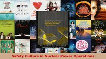 Download  Safety Culture in Nuclear Power Operations Ebook Free