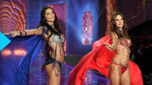 Alessandra Ambrosio, Adriana Lima and Lily Aldridge Share Backstage Secrets at the 2014 Victoria's Secret Fashion Show by wochit