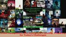 Read  Crisis Management and Emergency Planning Preparing for Todays Challenges Ebook Free