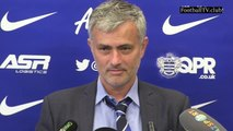 Jose Mourinho: Thibaut Courtois earned us two points post QPR vs Chelsea 0 : 1