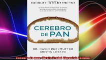 Cerebro de pan Grain Brain Spanish Edition