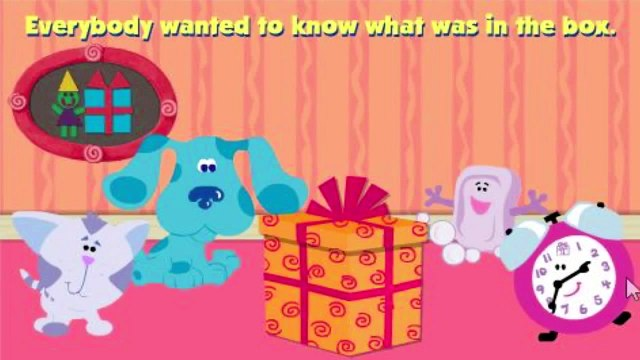 BLUES CLUES - Blues Clues Whats in the Box - New Blues Clues Game - Online Game HD - G