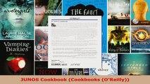 Read  JUNOS Cookbook Cookbooks OReilly Ebook Free