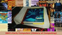 Download IBM's 360 and Early 370 Systems (History of Computing) PDF