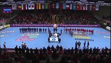 L'hymne de la Norvège se transforme en Gangnam Style / Handball Mondial 2015