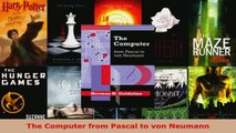 Read  The Computer from Pascal to von Neumann EBooks Online