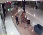 Electrician Gets Knocked Out
