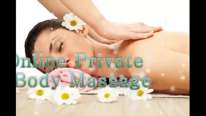 Japanese Upper Body Massage Therapy with Coconut Oil to Reduce Physical