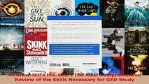 Read  McGrawHills PreGED  The Most Comprehensive Review of the Skills Necessary for GED EBooks Online