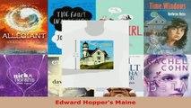 Read  Edward Hoppers Maine EBooks Online