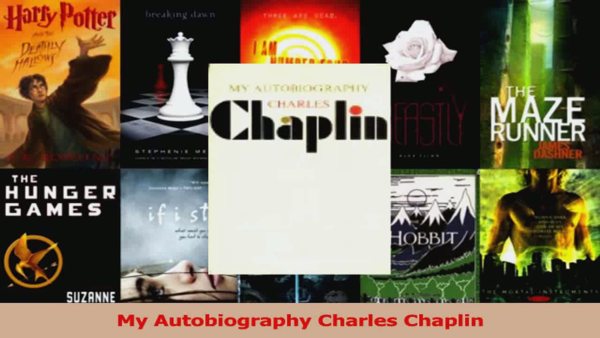 my autobiography charlie chaplin pdf free download