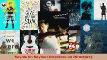 PDF Download  Sayles on Sayles Directors on Directors PDF Full Ebook