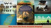 Read  Why Have the Birds Stopped Singing Ebook Free