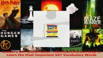 Download  Grubers SAT Word Master The Most Effective Way to Learn the Most Important SAT Ebook Free