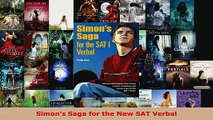 Read  Simons Saga for the New SAT Verbal EBooks Online