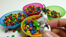M&M's M&M's Surprise Toys Hide & Seek - Angry Birds, Frozen Olaf, Filly & Peppa Pig Toys fun