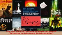 PDF Download  Cox and Giulis Principles of Stellar Structure Advances in Astronomy  Astrophysics Download Online