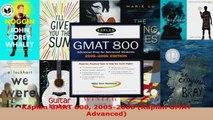 Download  Kaplan GMAT 800 20052006 Kaplan GMAT Advanced EBooks Online