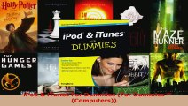 Read  iPod  iTunes For Dummies For Dummies Computers Ebook Free