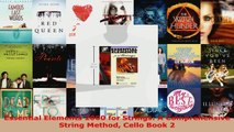 Read  Essential Elements 2000 for Strings A Comprehensive String Method Cello Book 2 Ebook Free