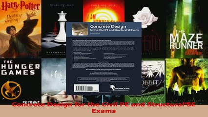 Download  Concrete Design for the Civil PE and Structural SE Exams EBooks Online