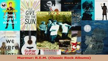 PDF Download  Murmur REM Classic Rock Albums Download Online