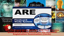 Read  ARE Flashcard Study System ARE Test Practice Questions  Exam Review for the Architect EBooks Online