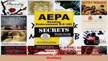 Read  AEPA Reading Endorsement K8 46 Secrets Study Guide AEPA Test Review for the Arizona EBooks Online