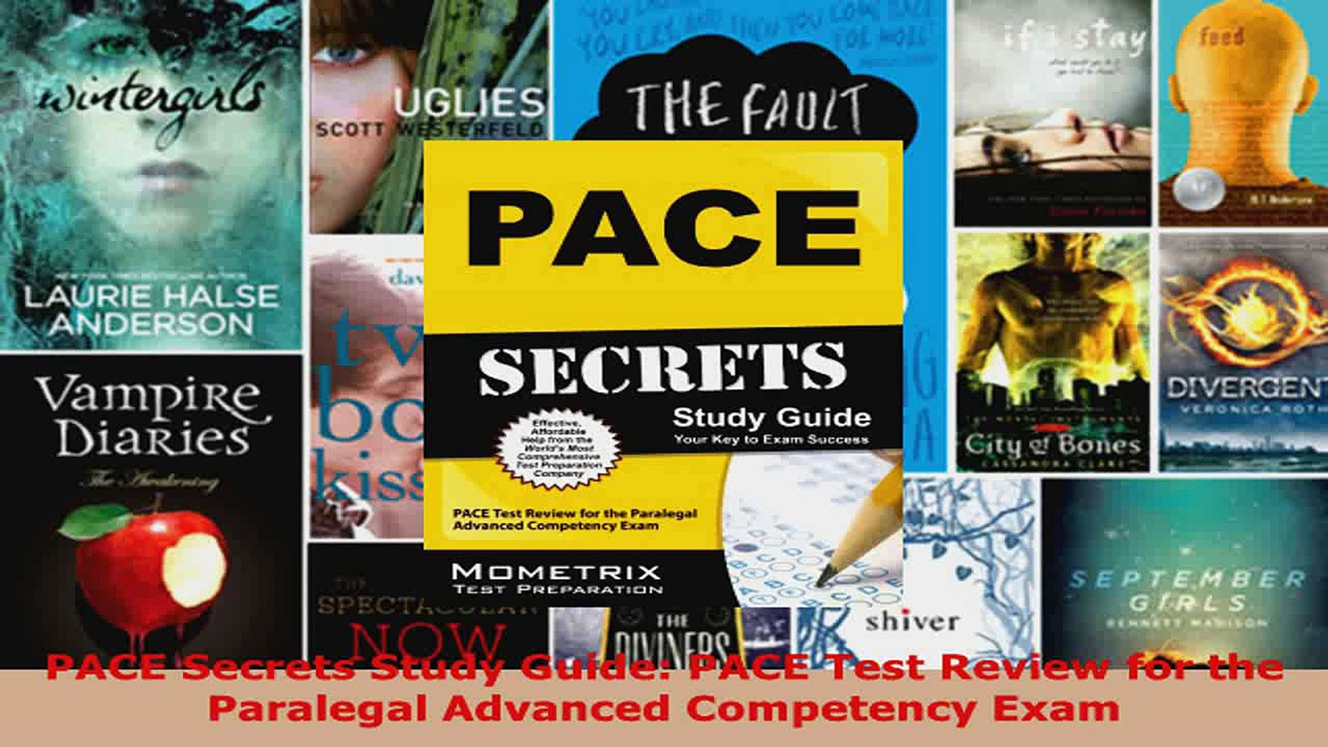 Download  PACE Secrets Study Guide PACE Test Review for the Paralegal Advanced Competency Exam PDF F