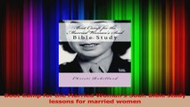 Boot Camp for the Married Womans Soul Bible study lessons for married women PDF