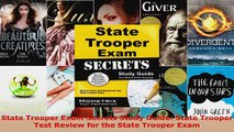 Read  State Trooper Exam Secrets Study Guide State Trooper Test Review for the State Trooper Ebook Free
