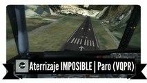 P3D V3 ⚫ IVAO España ⚫ Aterrizaje IMPOSIBLE ✈ Paro (VQPR) , Bután