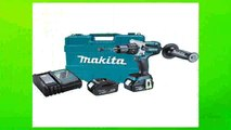 Best buy Hammer Drill Kit  Makita XPH07T 18V LXT LithiumIon Brushless Cordless 12Inch Hammer DriverDrill Kit